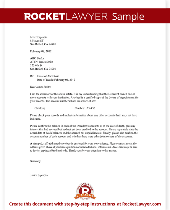Sample Bank Confirmation Letter Form Template