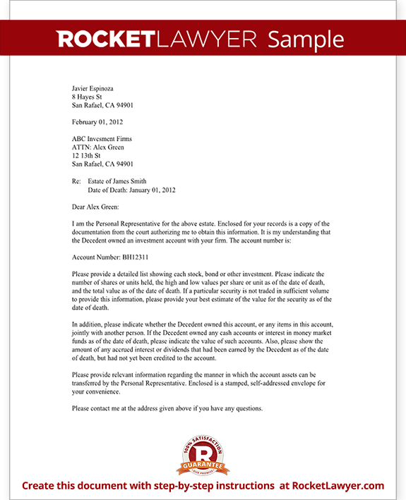 Sample Broker Confirmation Letter Form Template