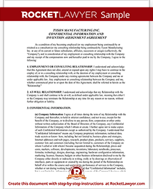 Sample Confidentiality Agreement Form Template