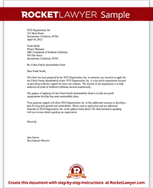 Sample Letter Of Intent  Free Letter Of Intent Sample