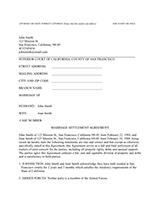free divorce paper template .