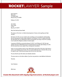 Past Due Letter 60 Days Collections Letter Sample Template