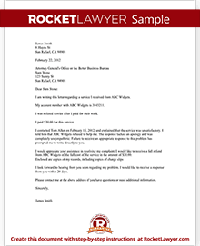 Complaint letter to a bbb or attorney general sample complaint letter to a bbb or attorney general spiritdancerdesigns Gallery