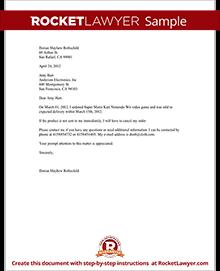 Demand for delivery letter with sample spiritdancerdesigns Images