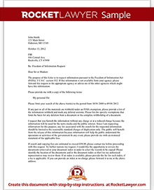 Freedom of information request letter template with sample sample freedom of information request spiritdancerdesigns Images