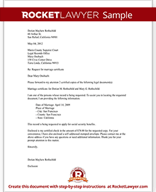 Legal records request letter with sample sample legal records request letter spiritdancerdesigns Choice Image