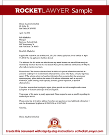 Letter challenging a credit denial with sample sample letter challenging a credit denial spiritdancerdesigns Images