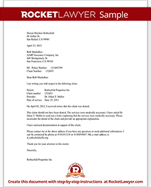 Sample Letter To Appeal A Medical Claim Denial  Letter Of Appeal Sample