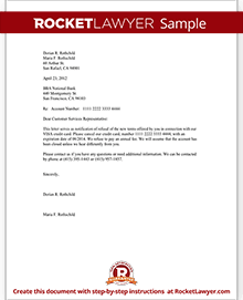 Letter to Cancel a Credit Card because of Poor Terms (Template ...