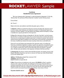 Louisiana lease agreement sample louisiana lease agreement platinumwayz