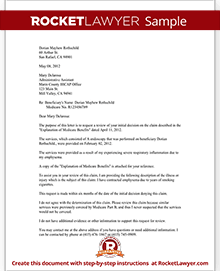 sample medicare appeal denial part b - Sample Letter Of Appeal For Reconsideration