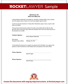 sample donation form