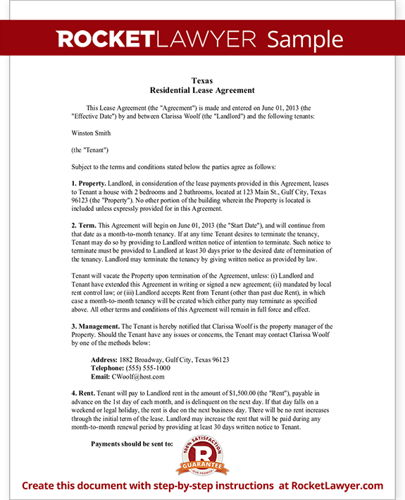 Texas lease agreement template gallery template design ideas for Credit union succession plan template