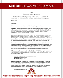 Texas lease agreement form residential lease agreement tx sample texas lease agreement platinumwayz