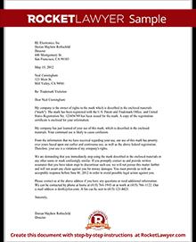 Sample Trademark Violation Letter