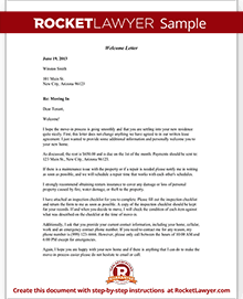 who writes the welcome letter for newly assigned enlisted soldiers welcome letter template free welcome letter with sample 25651 | Welcome Letter Thumbnail